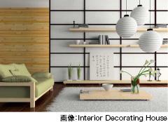 画像:Interior Decorating House